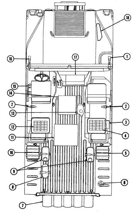 ARMAMENT CARRIER W/SUPPLEMENTAL ARMOR STOWAGE PLAN - TM-9