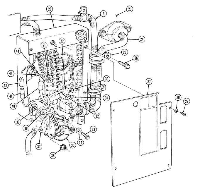 Control Panel Box Wiring
