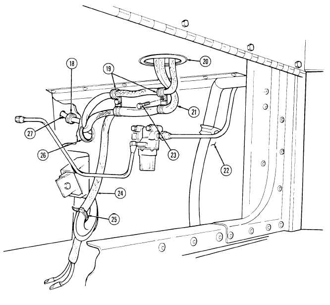 heater  vent system control box and wiring harness