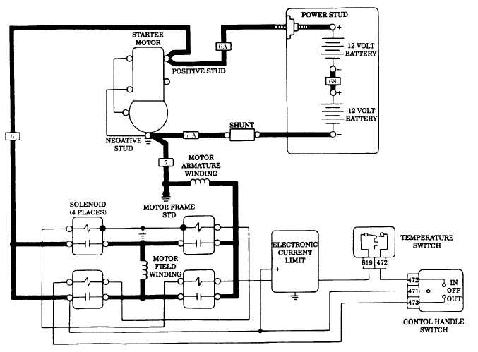 winch contactor wiring diagram get free image about wiring diagram
