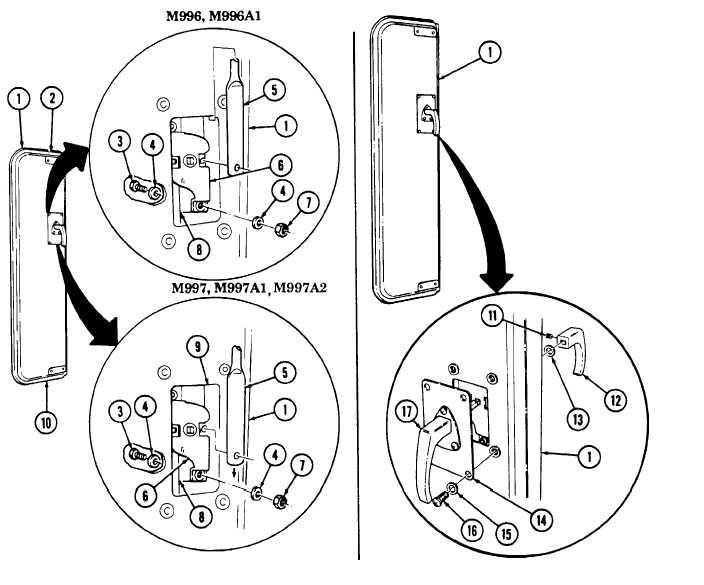 Bulkhead Door Latch Replacement Contd