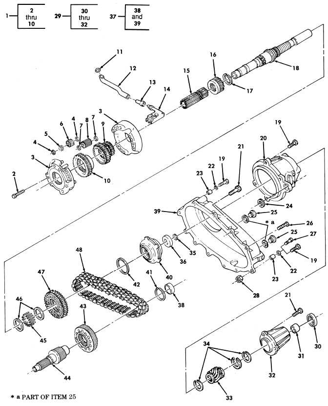 Transfer Case Assembly P N 5937387 12342643 1 And