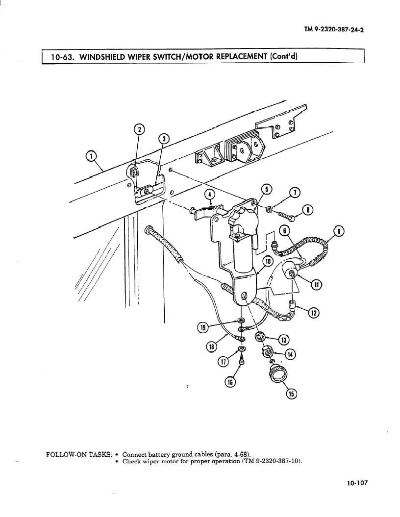 Wiring 63c 10 Wiper Motor Data Expertise 69 Corvette Diagram 1 O 63 Windshield Switch Replacement Contd 1969 Chevy C10
